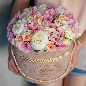 Цветы стильные с днем рождения